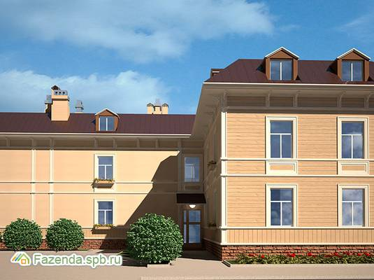 Малоэтажный жилой комплекс Аркадия, Пушкинский район.
