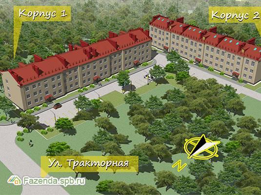 Малоэтажный жилой комплекс ЯРУС, Выборгский район.