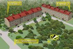 Рядом с ДАЧА расположен Малоэтажный жилой комплекс ЯРУС