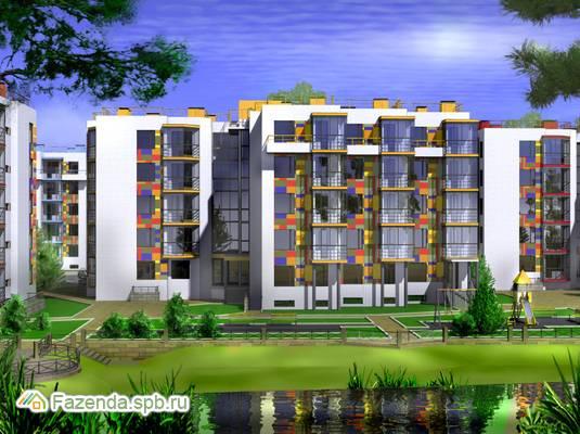 Малоэтажный жилой комплекс Ассорти, Всеволожский район. Актуальное фото.