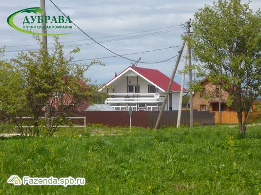 Коттеджный поселок  Остров, Ломоносовский район. Актуальное фото.