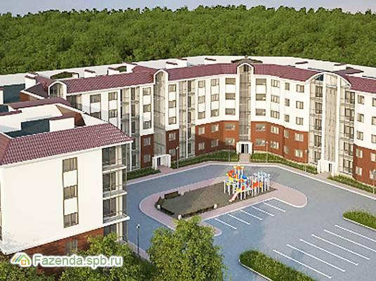 Малоэтажный жилой комплекс Солнце, Ломоносовский район.