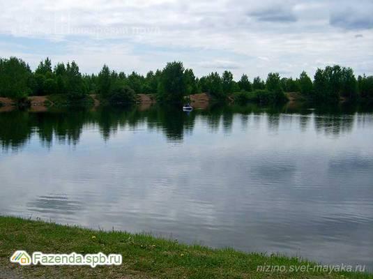 Коттеджный поселок  Шинкарский пруд, Ломоносовский район. Актуальное фото.