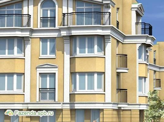 Малоэтажный жилой комплекс Павловские этюды, Пушкинский район. Актуальное фото.