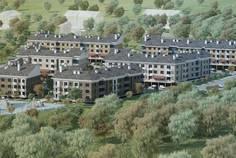 Рядом с Солнечная Долина расположен Малоэтажный жилой комплекс Шотландия