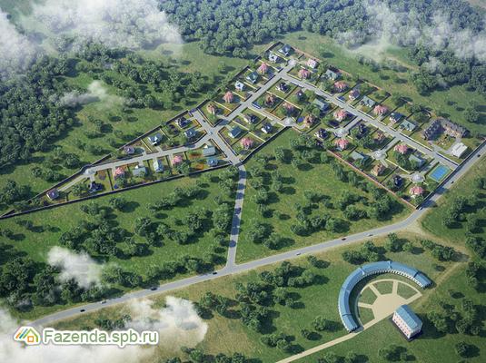 Коттеджный поселок  Belveder Park, Ломоносовский район.