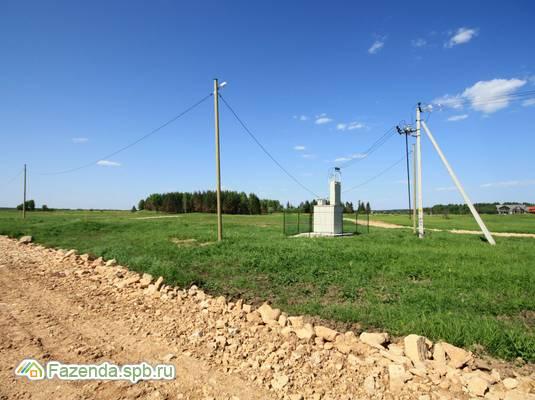 Коттеджный поселок  Заповедное, Волосовский район.