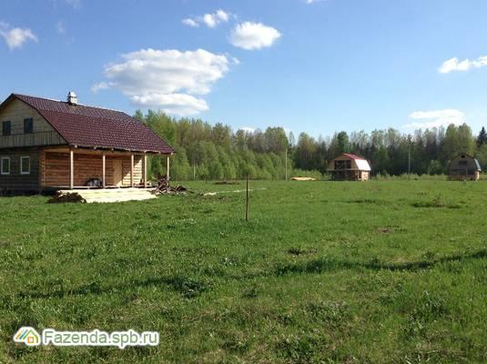 Коттеджный поселок  Большие Крупели, Лужский район.