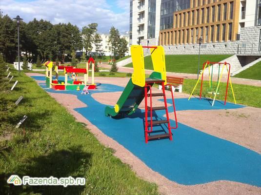 Малоэтажный жилой комплекс Водолей 2, Курортный район СПб. Актуальное фото.