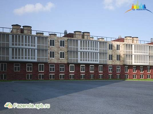 Малоэтажный жилой комплекс Тихий дом, Петродворцовый СПб. Актуальное фото.