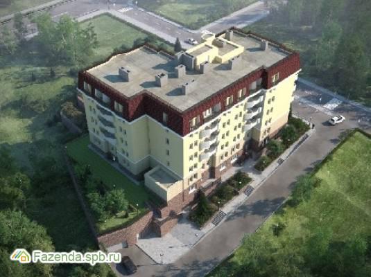 Малоэтажный жилой комплекс Дом на Львовской, Петродворцовый СПб.