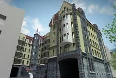 Рядом с LINNA расположен Жилой комплекс Торкельская Ратуша