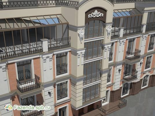 Малоэтажный жилой комплекс Bel Palazzo, Пушкинский район.