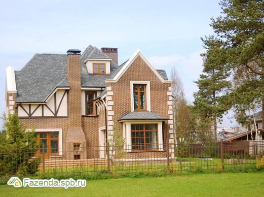 Коттеджный поселок  Ламбери, Всеволожский район. Актуальное фото.