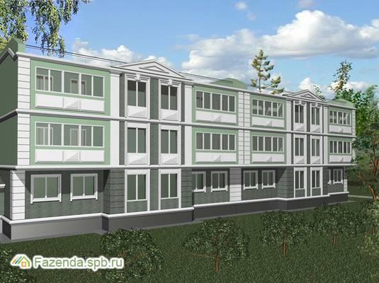 Малоэтажный жилой комплекс Славянский-2, Пушкинский район.