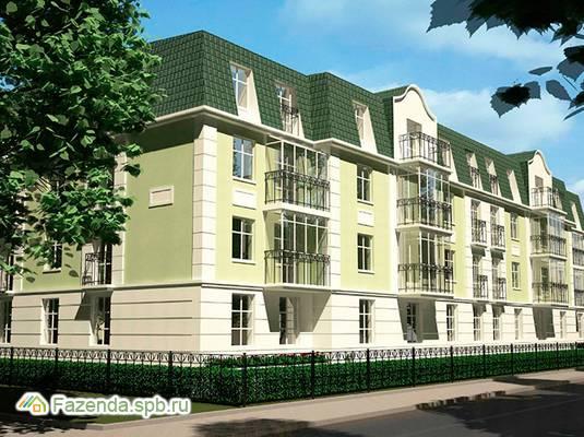 Малоэтажный жилой комплекс Ливадия, Пушкинский район. Актуальное фото.