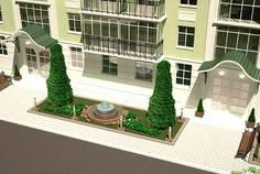 Рядом с Бастион расположен Малоэтажный жилой комплекс Ливадия