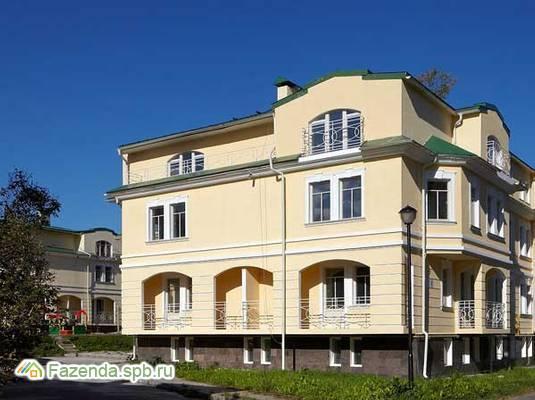 Малоэтажный жилой комплекс Княжеские усадьбы, Пушкинский район. Актуальное фото.