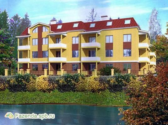 Малоэтажный жилой комплекс Усадьба в Соснах, Всеволожский район. Актуальное фото.