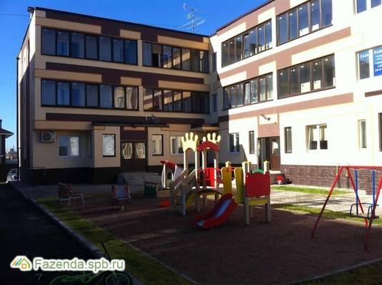 Малоэтажный жилой комплекс Заневка-2, Всеволожский район. Актуальное фото.