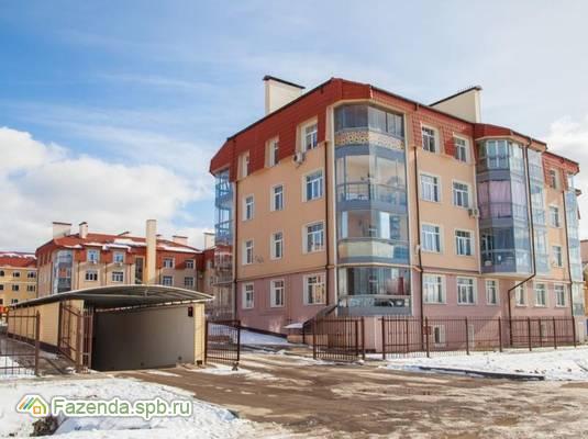 Малоэтажный жилой комплекс Лесная дача, Курортный район СПб. Актуальное фото.