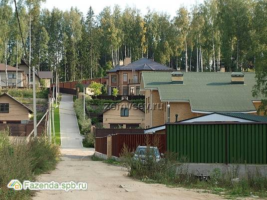 Коттеджный поселок  Песочные холмы, Всеволожский район.