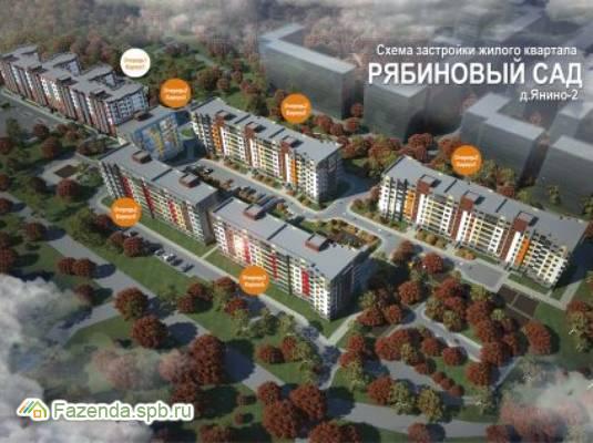 Жилой комплекс Рябиновый Сад, Всеволожский район.