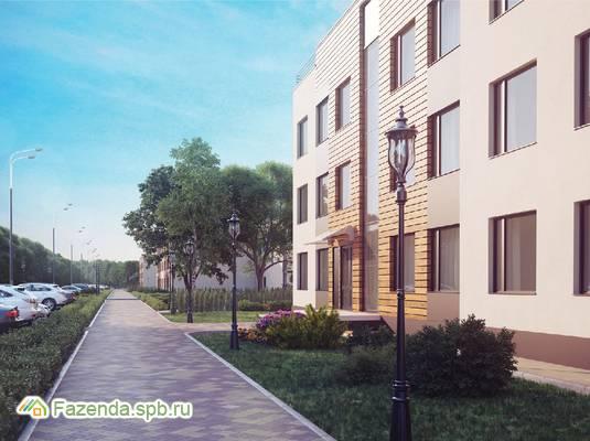 Малоэтажный жилой комплекс Чистый ручей, Всеволожский район. Актуальное фото.