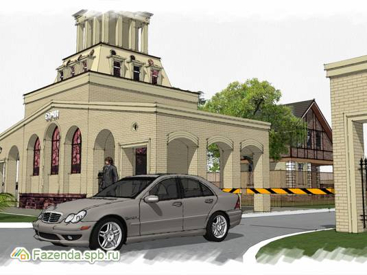 Коттеджный поселок  Сочи, Ломоносовский район. Актуальное фото.