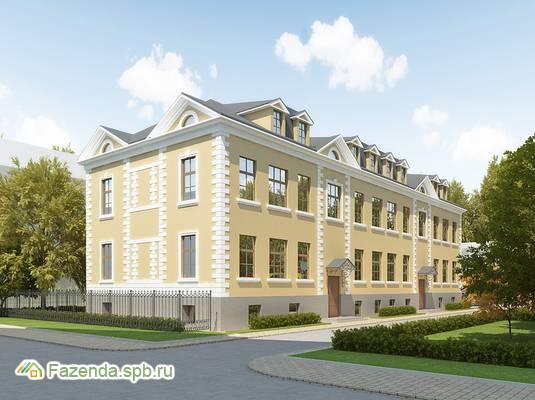Малоэтажный жилой комплекс Серебряный век, Пушкинский район.