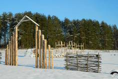 Рядом с Ольшаники2 расположен Коттеджный поселок  Карельский бриз