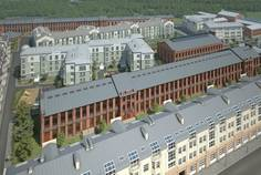 Рядом с Водолей 2 расположен Малоэтажный жилой комплекс Петровский Арсенал
