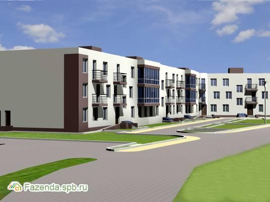 Малоэтажный жилой комплекс Новый Дом в г.п. Рахья, Всеволожский район.