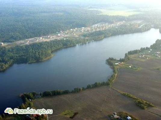 Коттеджный поселок  Борисово-2, Приозерский район. Актуальное фото.