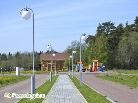 Коттеджный поселок  Зима-Лето, Выборгский район.