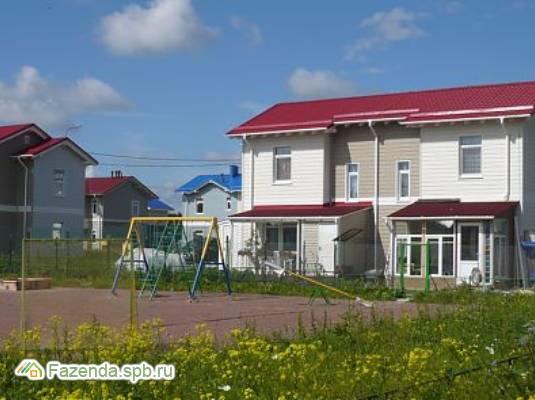 Малоэтажный жилой комплекс Золотые ключи, Гатчинский район.