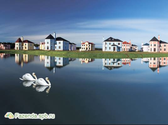 Коттеджный поселок  Мариинская усадьба, Тосненский район. Актуальное фото.