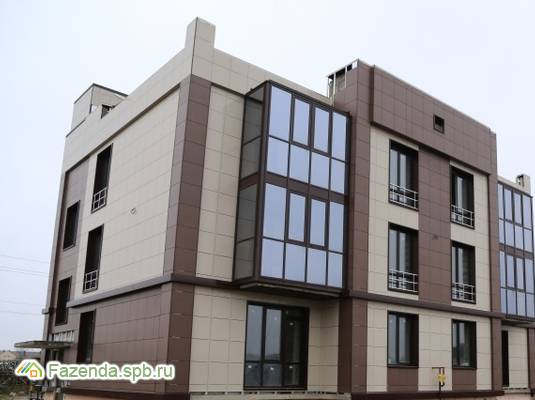 Малоэтажный жилой комплекс Мелодия, Всеволожский район. Актуальное фото.