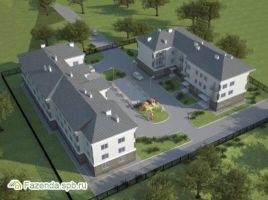 Малоэтажный жилой комплекс Новый дом у ручья, Всеволожский район.
