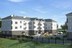 Рядом с Гармония расположен Малоэтажный жилой комплекс Новый дом у ручья