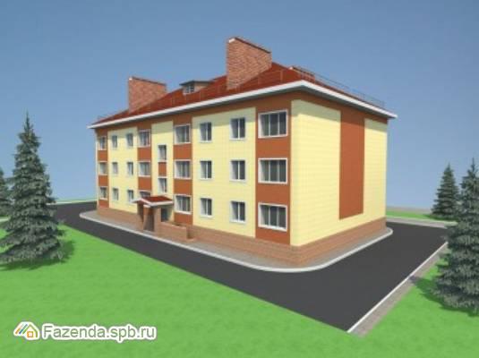 Малоэтажный жилой комплекс Глажево, Киришский район.