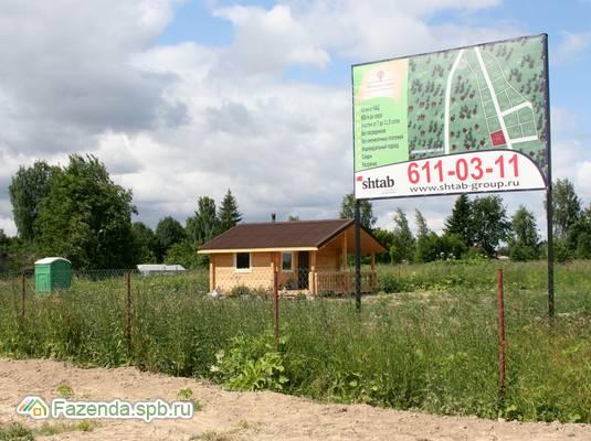 Коттеджный поселок  Мягловские усадьбы, Всеволожский район. Актуальное фото.