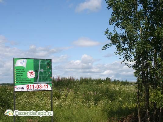 Коттеджный поселок  Лён, Всеволожский район.