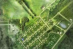Рядом с ВикоСад расположен Коттеджный поселок  Ускуля