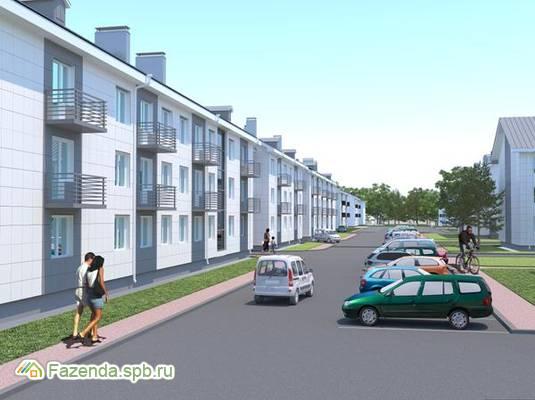 Малоэтажный жилой комплекс Солнечный квартет 1, Тосненский район.