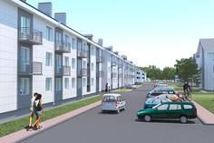 Рядом с Малая Земля расположен Малоэтажный жилой комплекс Солнечный квартет 1