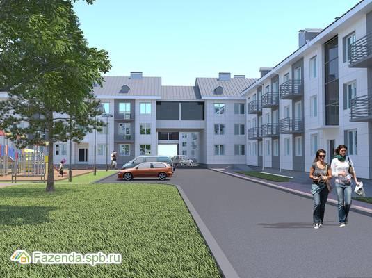 Малоэтажный жилой комплекс Солнечный квартет 2, Тосненский район.