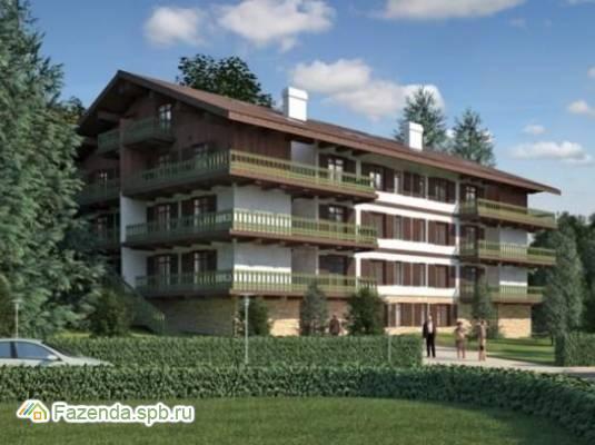 Малоэтажный жилой комплекс Alpenhof, Всеволожский район.