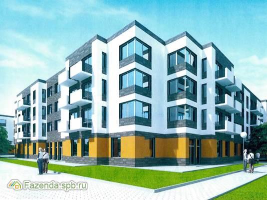 Малоэтажный жилой комплекс Демидовский парк, Гатчинский район. Актуальное фото.