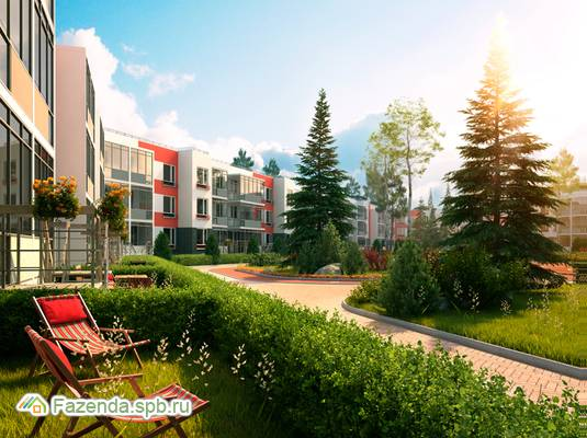 Жилой комплекс Yolkki Village, Всеволожский район.